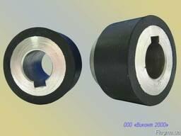 Обрезинивание ролика протяжки бумаги ø60хø42х25 мм