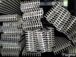 Радиаторный алюминиевый профиль 60х20, двухсторонний