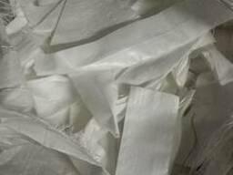Обрезки полипропиленовой ткани