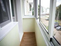 Обшить Балкон Окна Установить