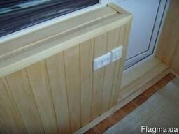 Обшивка монтаж деревянної вагонки, підлоги , блок-хаус и фал