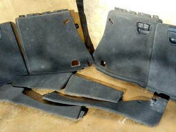 Обшивка накладка багажника рестайлинг БМВ Е53 Х5. ..