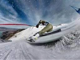Обучение катанию на горных лыжах и сноуборде (Киев, Украина, за границей)
