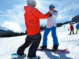 Обучение катанию на сноуборде Киев Инструктор по сноуборду