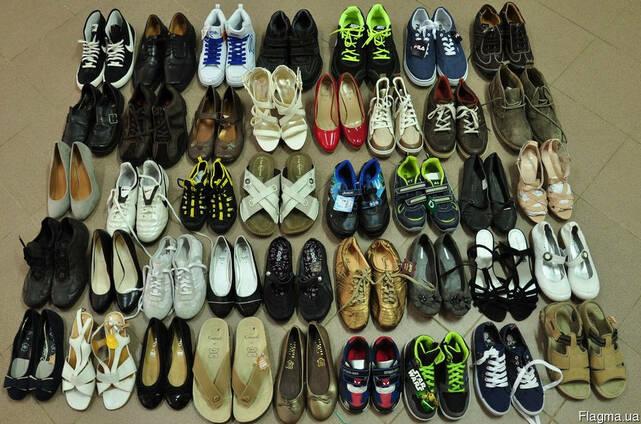 Обувь мужская, женская, детская лето микс, на вес по 14 евро