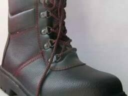 Берцы, Берцы зимние кожаные на меху с металическим подноском