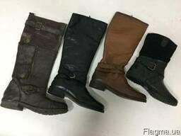 Обувь зимняя женская. Damen Winter Mix. Кожа.