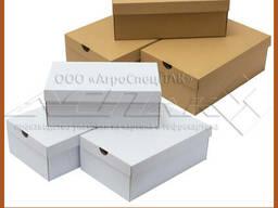 Обувные картонные коробки в ассортименте и на заказ