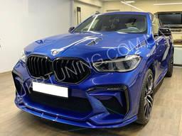 Передний бампер BMW X6 G06 2020 2019