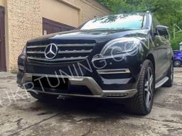 Губа Mercedes ML W166 2012 2013 2014 2015