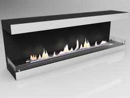 Очаг Родос Black (под биокамин) Wild Flame 1700 мм