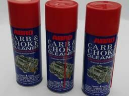Очиститель карбюратора и дросселя. ABRO CARB & CHOKE Cle
