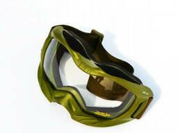 Очки маска Mil-Tec Attact олива