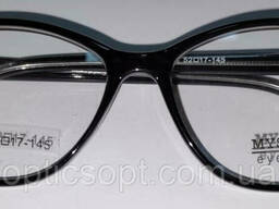 Очки в пластиковой оправе Mystery Eyewear, чёрная оправа