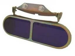 Очки защитные козырьковые ОК1-Д3, со стеклами-светофильтрами