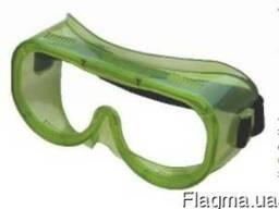 Очки защитные закрытые с прямой вентиля ЗП8 Эалон