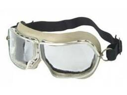 Закрытые очки, с прямой вентиляцией