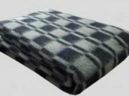 Одеяла шерстяные, домашний текстиль, одеяло шерсть 70%