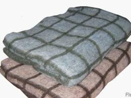 Одеяло детское 50% шерсти 100х140 см