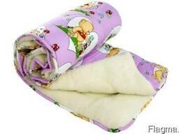 Одеяло детское Чарівний сон меховое 110х140см