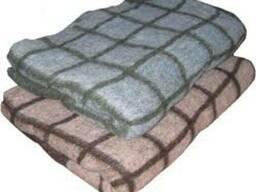 Одеяло полушерстяное 100*140