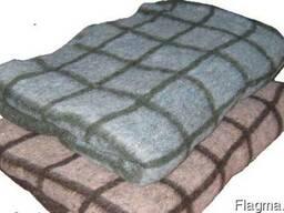 Одеяло полушерстятое полуторное