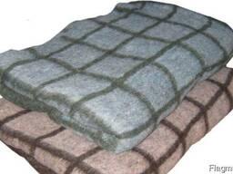 Одеяло шерстяное 50% 1400х200 см