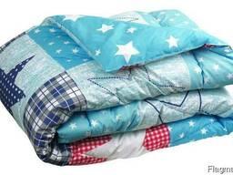 Одеяло стеганное, силиконовое, очень теплое. Размеры.