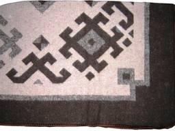 Одеяло жаккардовое 70% шерсти