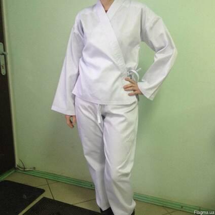 Одежда для занятий кимоно, куртка и брюки, спортивная одежа