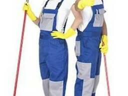 Одежда для клининговых компаний, полукомбинезон рабочий