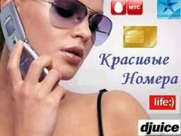 Красивые золотые номера мобильных операторов Мтс, Кс, Лайф