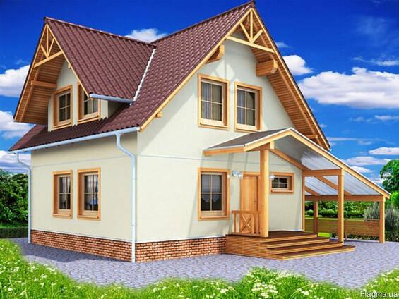 Одноэтажный/Двухэтажный Дом