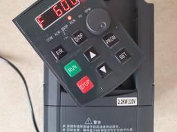 Однофазный 220В Частотник, чатотний перетворювач, 2, 2квт 2, 2kw