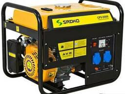 Однофазный бензогенератор генератор Sadko GPS-3000