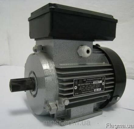 Однофазный электродвигатель АИ1Е 80 В4 (1,1 кВт 1500 об/мин)