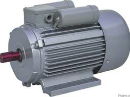 Однофазный электродвигатель с короткозамкнутым ротором Gamak