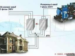 Однофазные дизельгенераторы для трехфазной сети