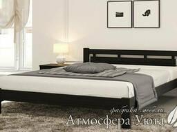 """Односпальная кровать из натурального дерева """"Теа"""" 80х190"""