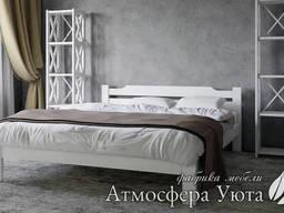 """Двуспальная деревянная кровать """"Софи"""" 180х190"""