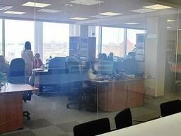 Офисная перегородка (стекло меняющее свою прозрачность)