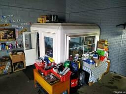 Офисное помещение Торговый киоск Ларек для охраны Бытовка По