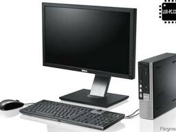 Офисные и игровые компьютеры в комплекте с монитором разных