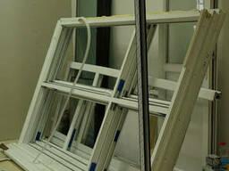 Офисные перегородки металлопластиковые со стеклопакетами