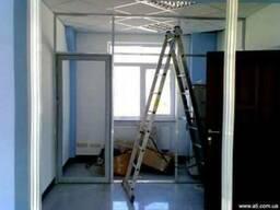 Офисные перегородки: монтаж / демонтаж и перевозка