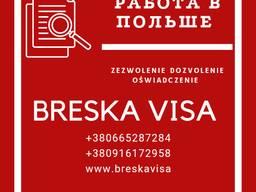 Приглашение на 6 месяцев без привязки к работодателю для оформления рабочей визы категории