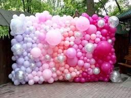 Оформление воздушными шариками праздника, дня рождения