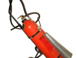 Огнетушитель углекислотный передвижной ОУ-25, ВВК-18