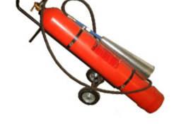 Огнетушитель углекислотный передвижной ОУ-40 ВВК-28