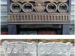Оградка декоративная бетонная от производителя